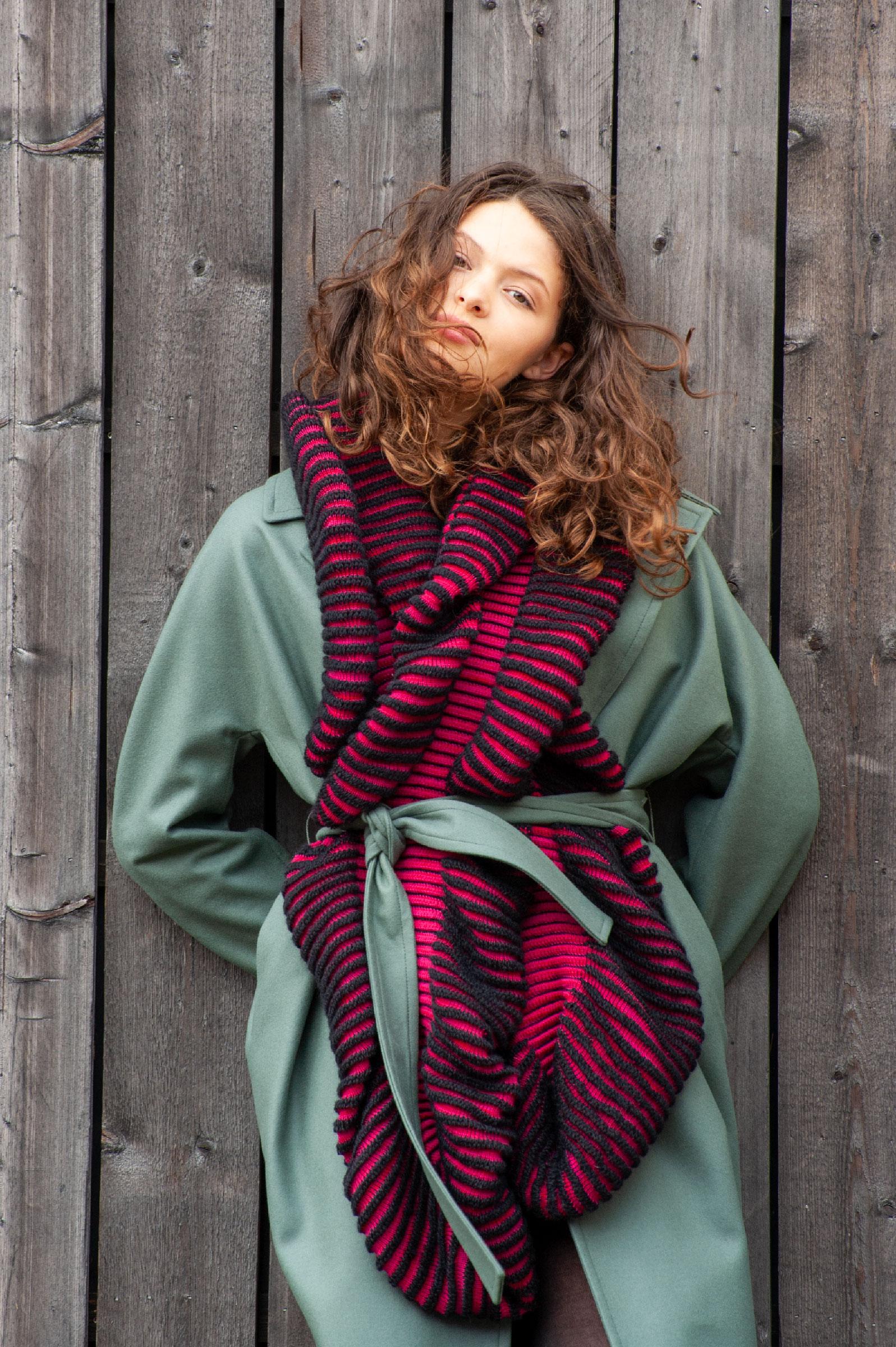 Cauliflower scarf